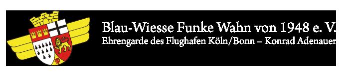 Blau-Wiesse-Funke Wahn